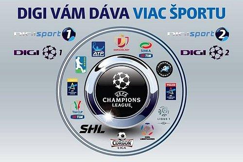 Digi TV skutečně dává zákazníkům vydatnou dávku sportu, ale pouze na Slovensku.