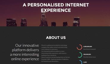 Phorm.com v roce 2016 než přestal fungovat