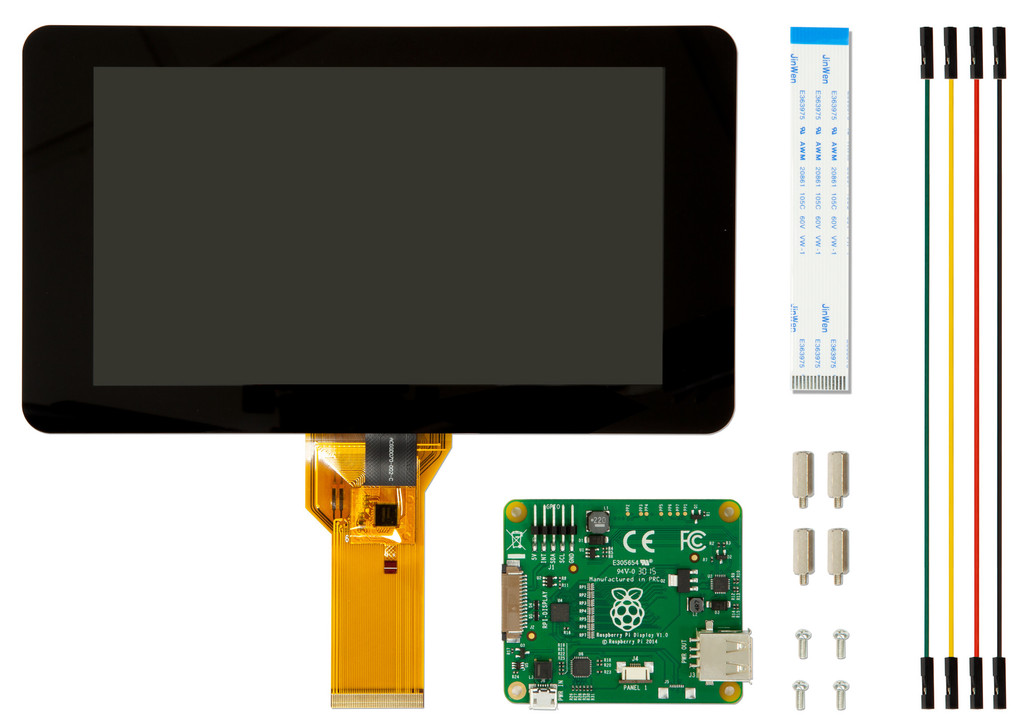 Raspberry Pi LCD displej