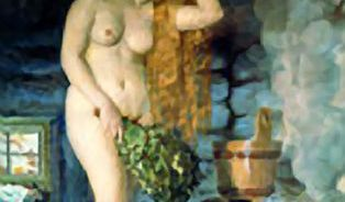 Ruská baňa je snesitelnější než sauna