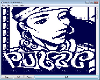 GetDiz zobrazí správně ASCII znaky