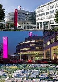 Centrála koncernu Deutsche Telekom AG na Friedrich-Ebert-Allee.