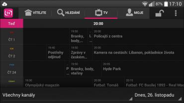 Mobilní T-Mobile TV