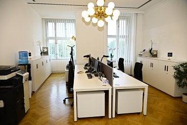 Kancelář sekretariátu členů představenstva.