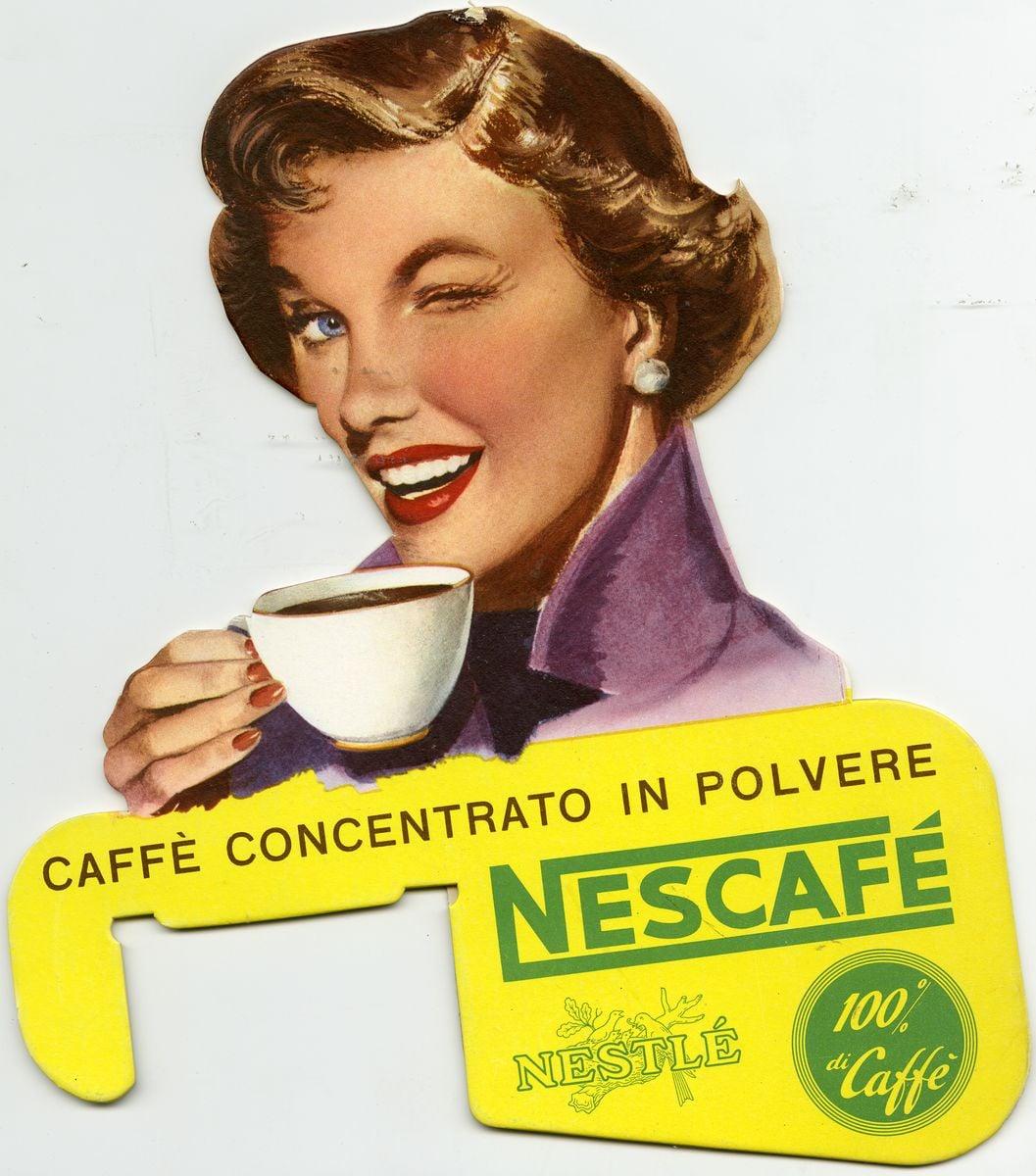 Rozpustná káva Nescafé