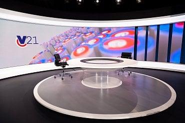 Celková plocha obrazovek v novém studiu je 41 m².