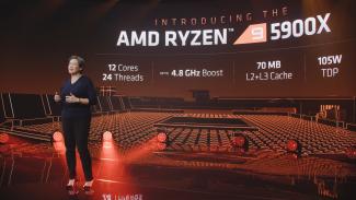 Lisa Su (AMD) prezentuje Ryzen 9 5950X