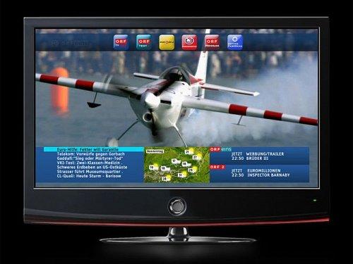 Náhled HbbTV portálu rakouské veřejnoprávní televize ORF