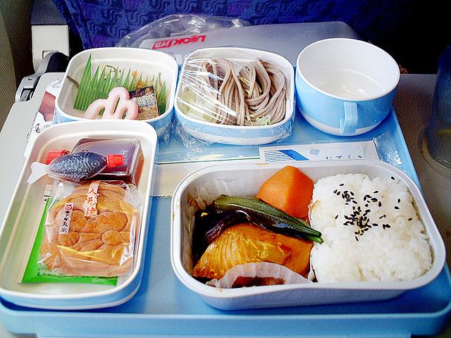 Jídla v letadle