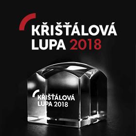 Logo Křišťálová Lupa 2018