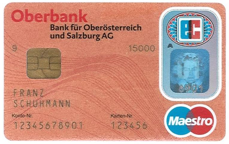 Oberbank platební karta
