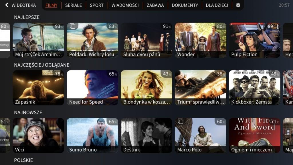 Polská verze služby goNET TV