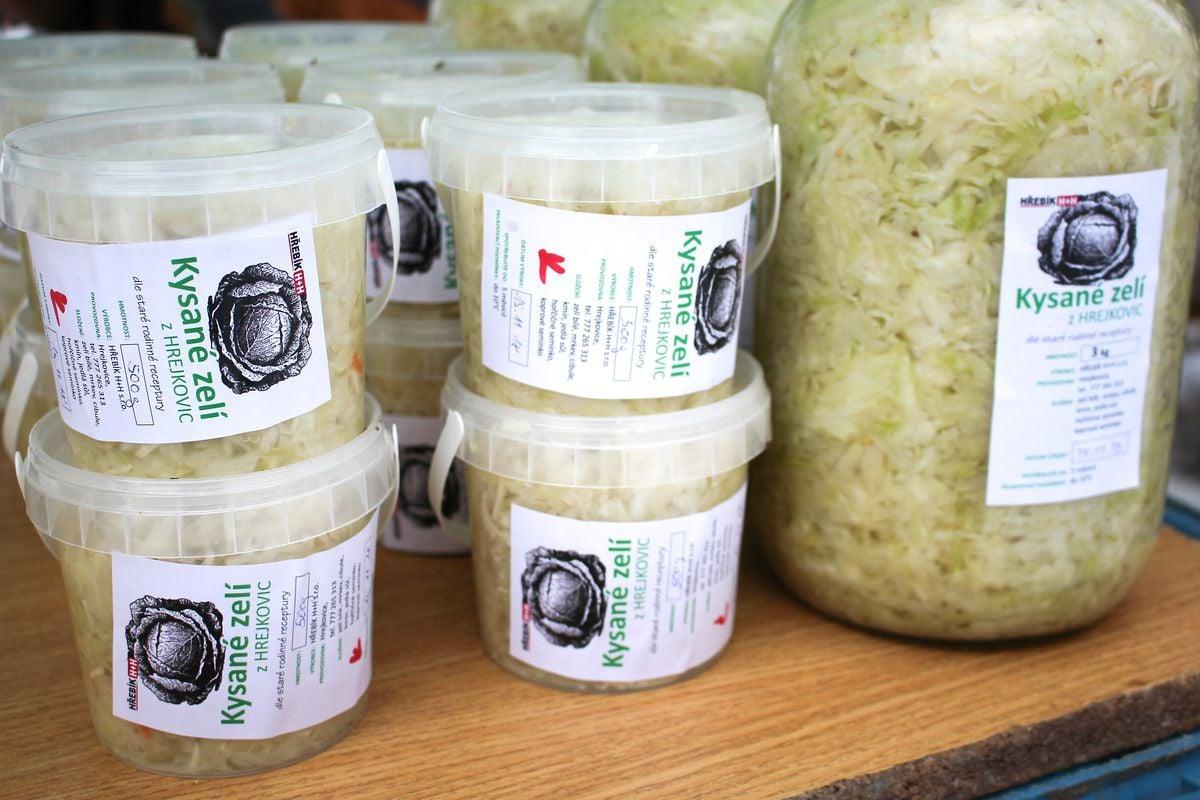 Nákup na farmářském trhu: Heřmaňák