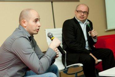 Václav Liška (Aukro) a Jiří Hlavenka (ex CPress)