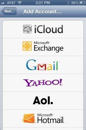 iOS Hotmail
