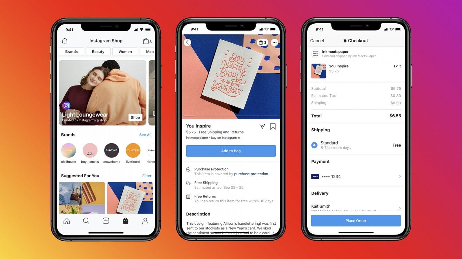 Facebook oznámil Facebook Shops a Instagram Shop