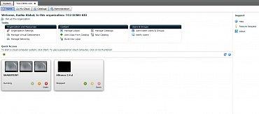 Portál zákazníka služby O2 Cloud
