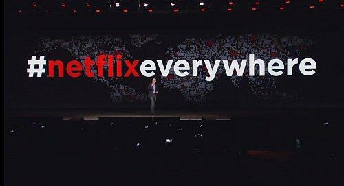 Globální expanze Netflixu vzbudila v prezentační hale doslova senzaci