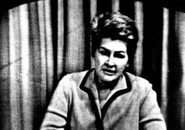 Kamila Moučková v srpnu 1968