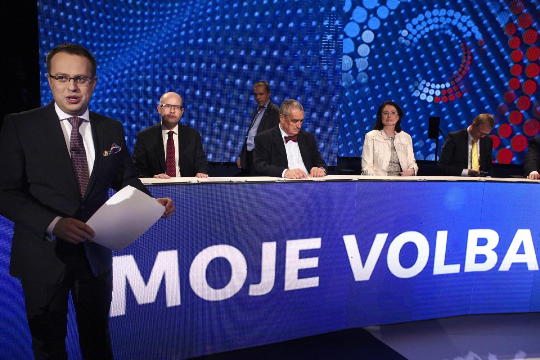 Předvolební superdebata České televize