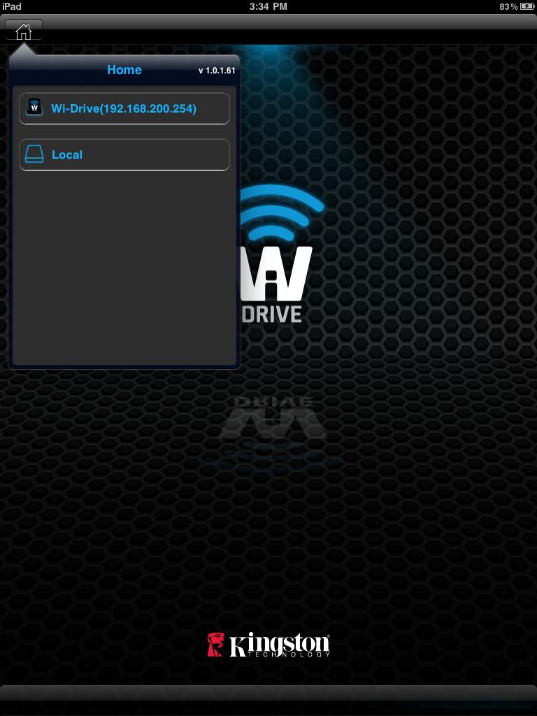 Wi-Drive App