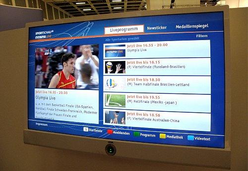 Po vizuální stránce mohou vypadat portály HbbTV velice atraktivně.