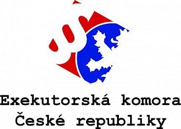 Oficiální logo Exekutorské komory České republiky.