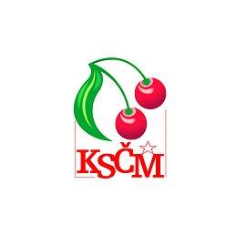 Logo KSČM.