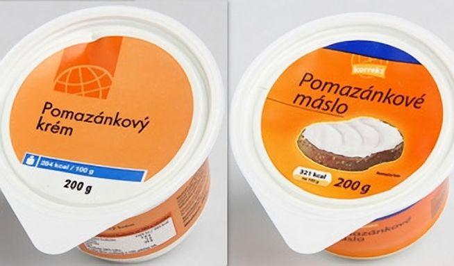 Pomazánková másla GLobus O