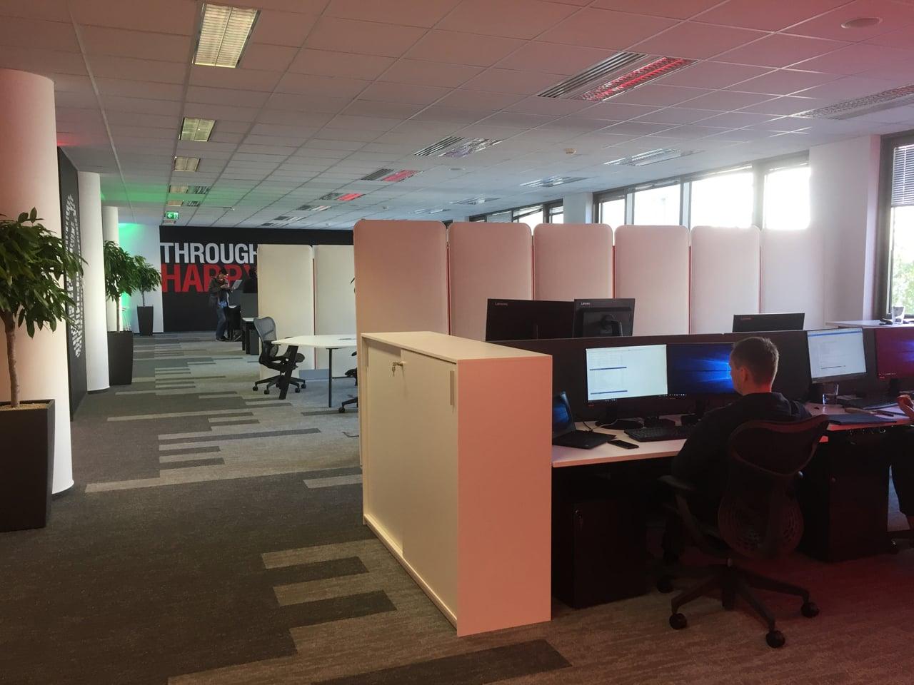 Kanceláře vývojového centra Wargaming v Praze