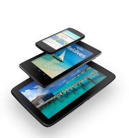 Nexus 4,7 a 10