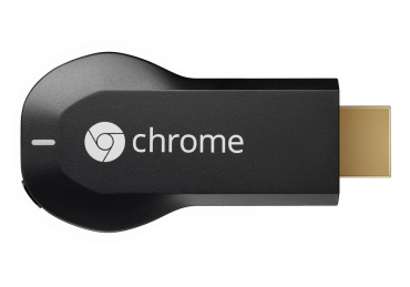 HDMI dongle Google Chromecast.