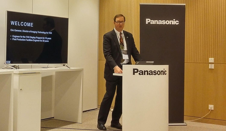 Panasonic - THX přednáška