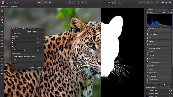Affinity Photo: Téměř 100% náhrada za Photoshop za zlomek ceny
