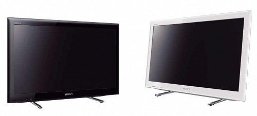 Televizor můžete mít jak v bílé (slonová kost), tak v černé barvě pokaždé se stejným podstavcem.