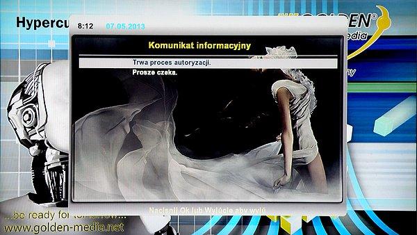 Inicializace polského modulu spárovaného s kartou (Telewizja na kartę).Vyhledávání služeb terestrika DVB-T
