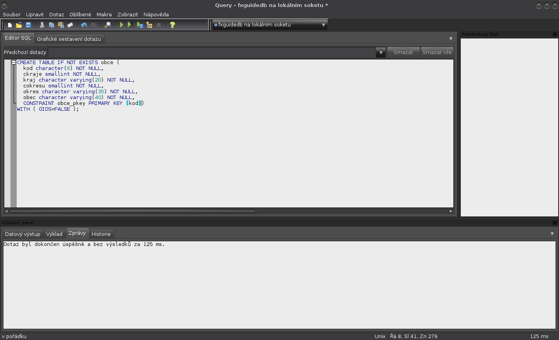 JavaFX: vytvoření tabulky a vložení dat