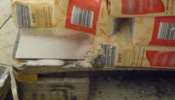 Myši v prodejnách potravin