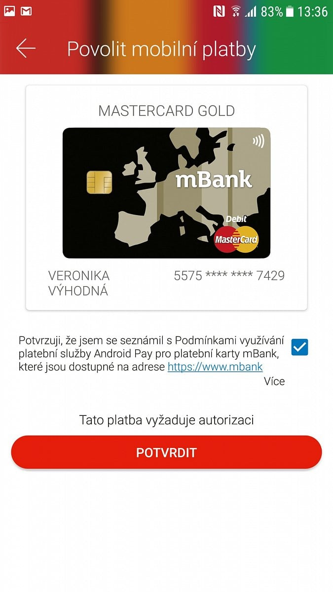 Android Pay mBank