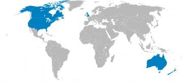 Země aliance pěti očí