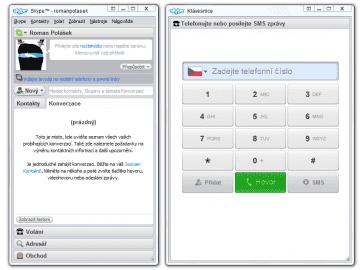 <p>Nová verze aplikace Skype přinesla i přepracované rozhraní</p>