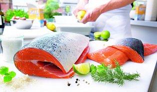 Kfiletování lososa se hodí ikombinačky
