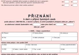 Měšec.cz: Jak vyplnit daňové přiznání? (PŘÍKLAD)