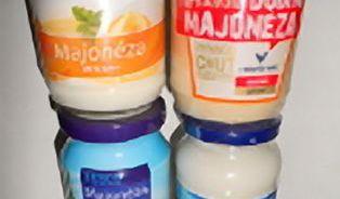 Test majonéz: Základem je voda astěží jeden pasterizovaný žloutek