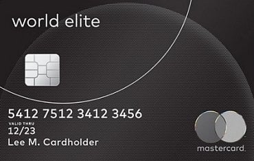 Vzor karty Mastercard World Elite.