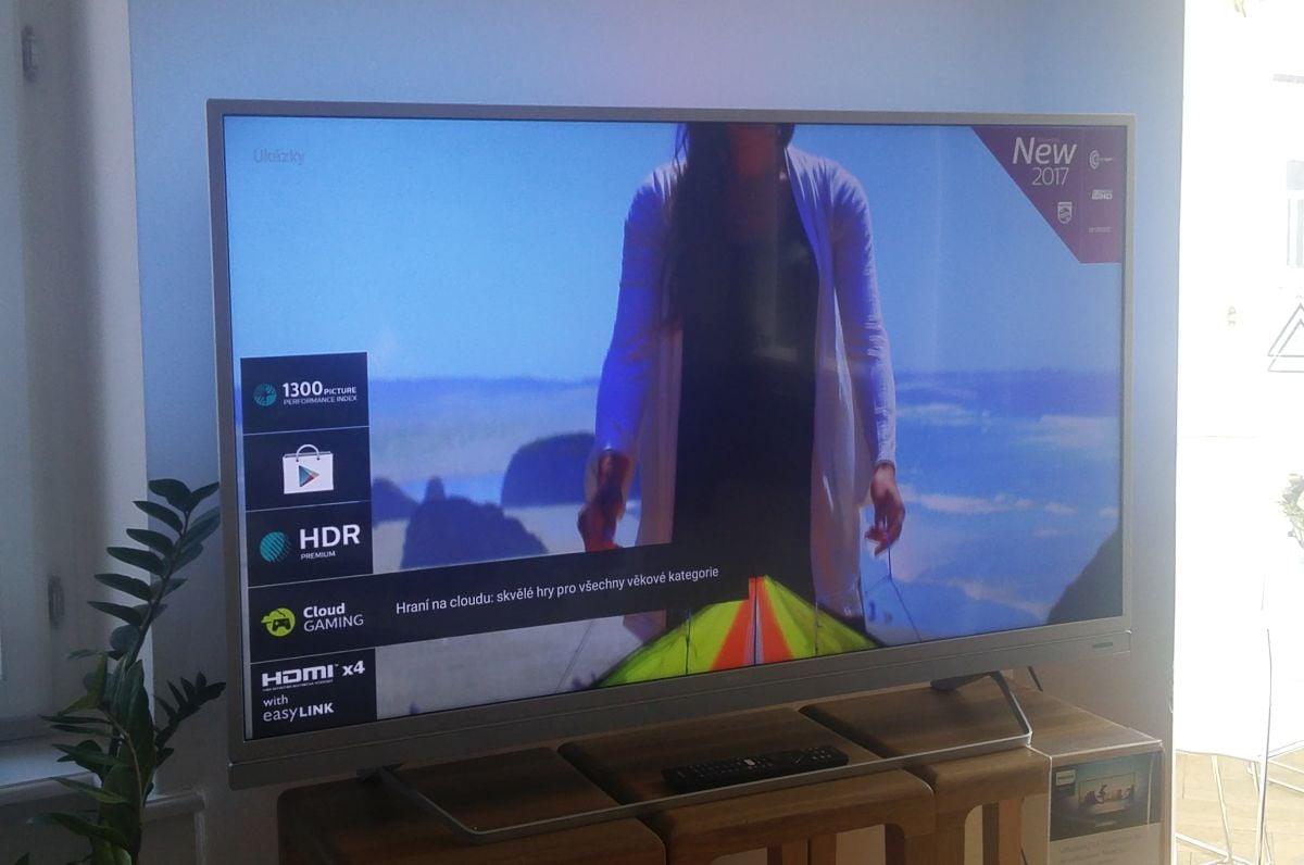Philips TV - nejvyšší řady, červen 2017