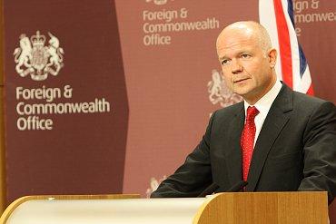 Britský ministr zahraničí.