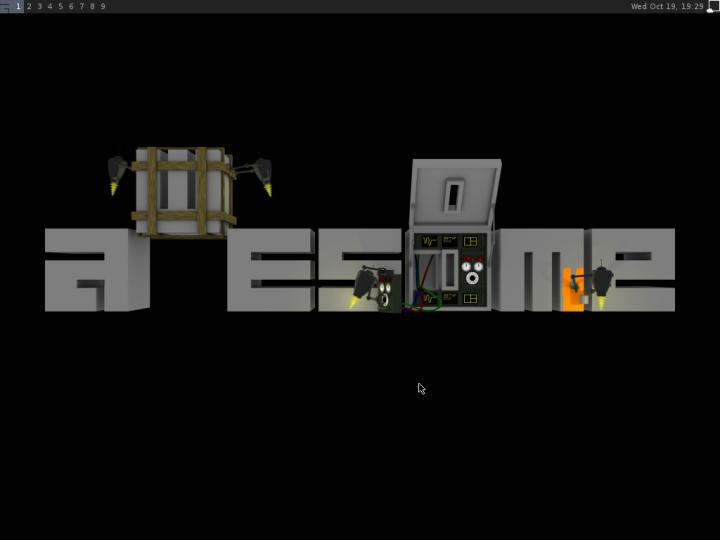 Awesome v Debianu