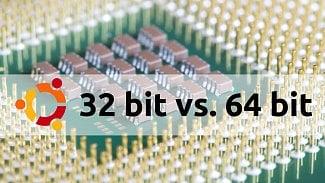 Ubuntu zvažuje omezení 32bitové verze už od 16.10