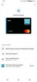 Platební karty Hello bank! nově podporují Google Pay. (05/2021)